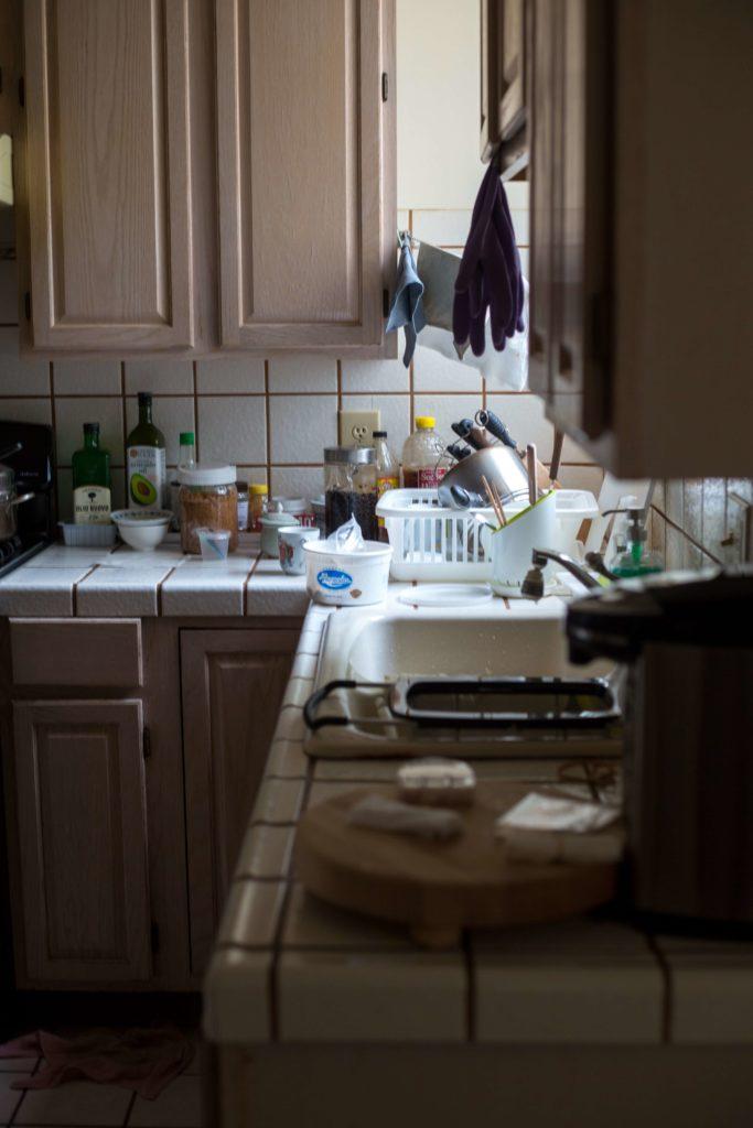 Zuviel Zeug in der Küche führt schnell zu chaotischen Zuständen.