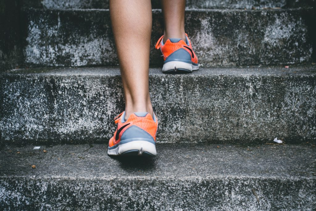 Dranbleiben ist das Wichtigste beim fit werden.