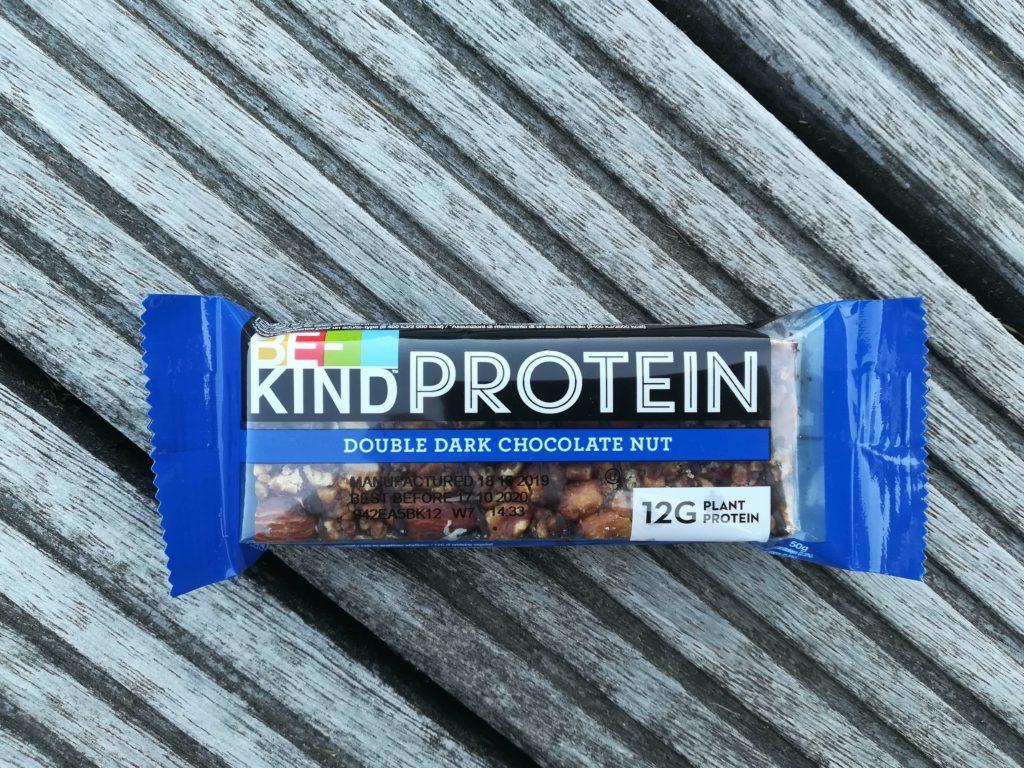 Veganer Proteinriegel, erhältlich bei Rossmann