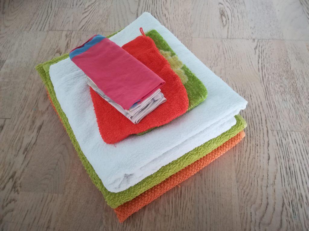 Minimalismus im Bad: Mir reichen drei Handtücher