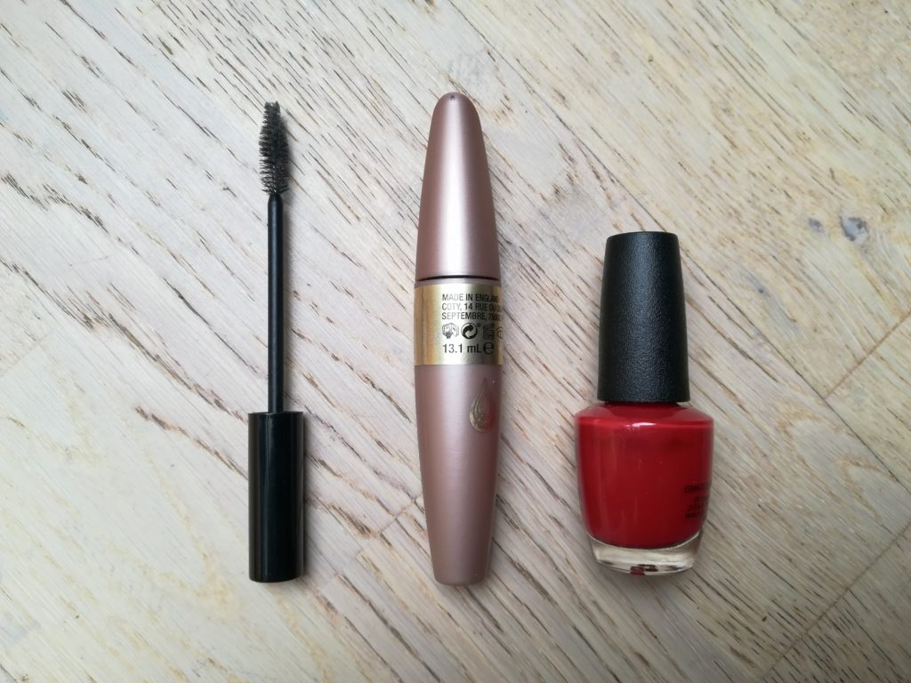 Minimalistische Kosmetik