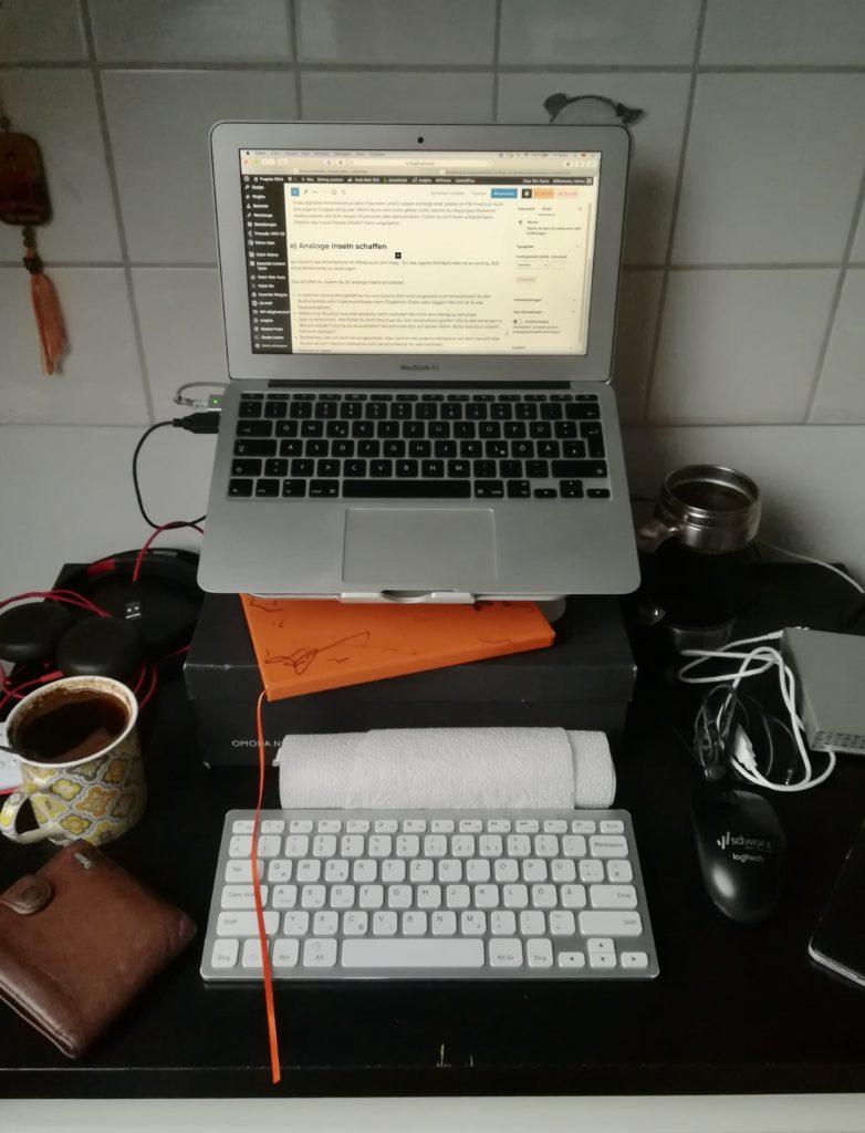 Digitaler Minimalismus: Desktop genauso wichtig wie echter Schreibtisch.