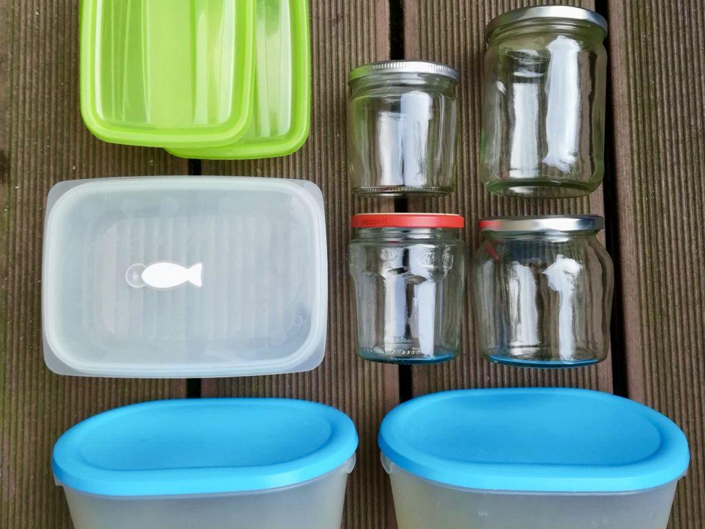 Lebensmittelverschwendung in der Familie: Vorratsdosen