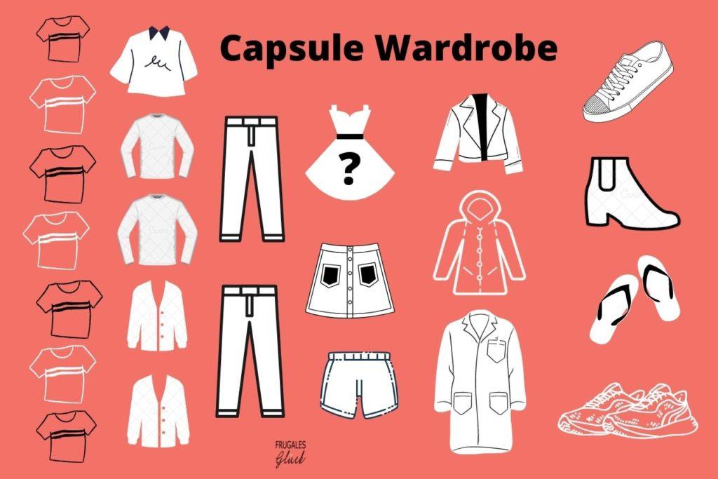 Welche Kleidungsstücke gehören in die Capsule Wardrobe?