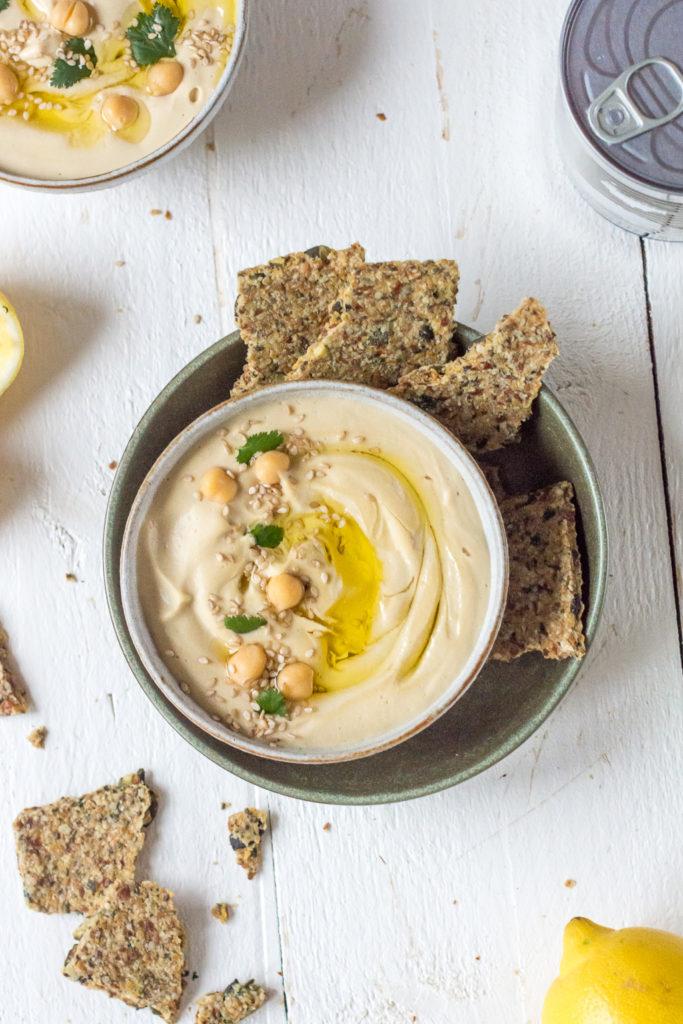 Vegane Brotaufstriche: Hummus