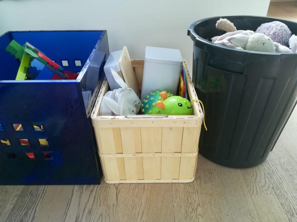 Ordnung im Kinderzimmer: Alles in Kisten