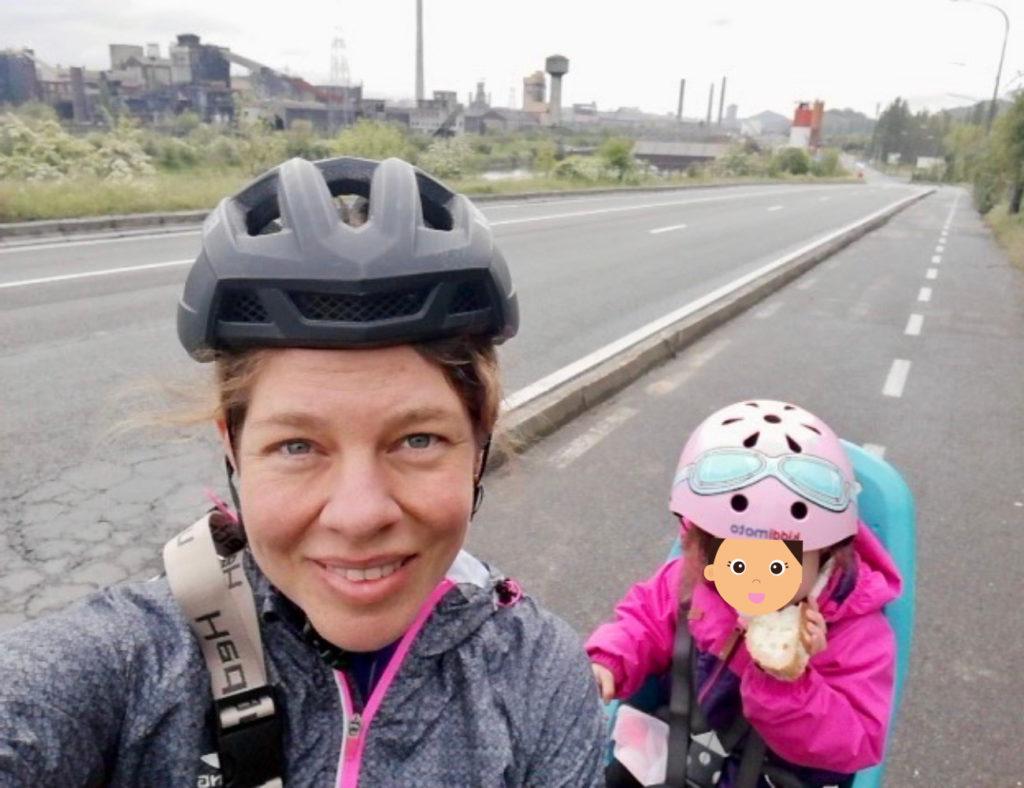 Radreise mit Kleinkind. Charleroi, die angeblich hässlichste Stadt der Welt.