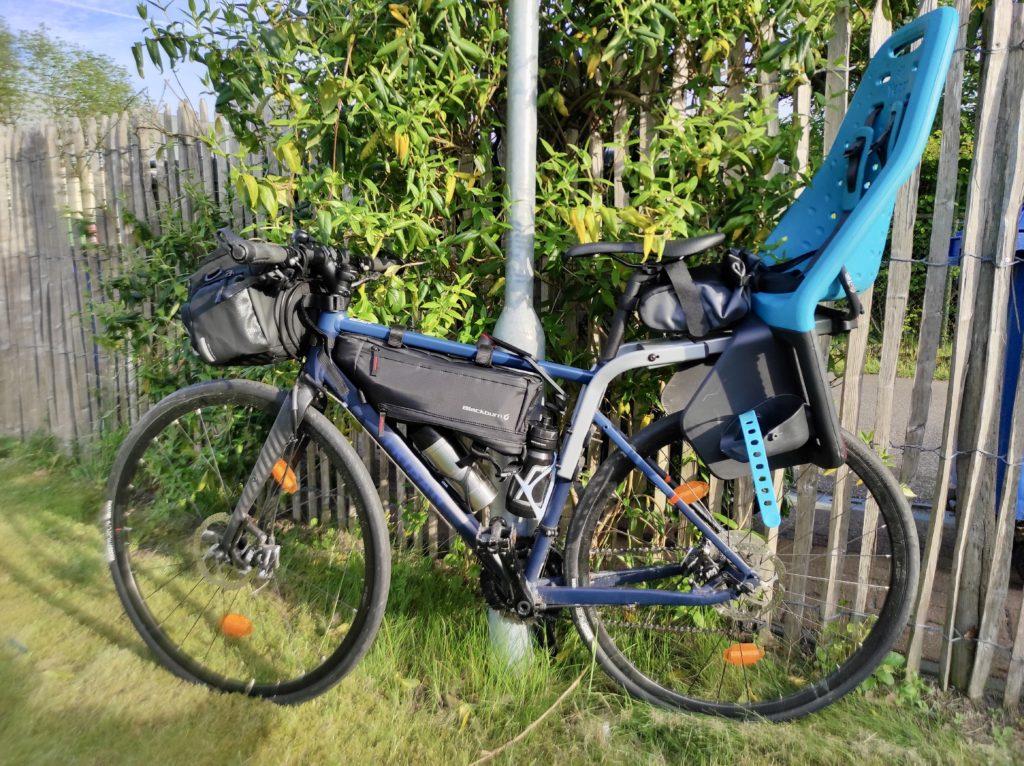 Radreise mit Rennrad und Kleinkind