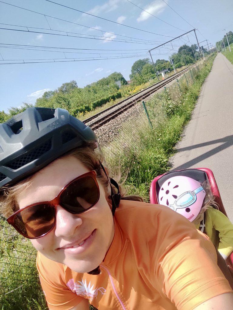 Radreise mit Kleinkind - Unterwegs