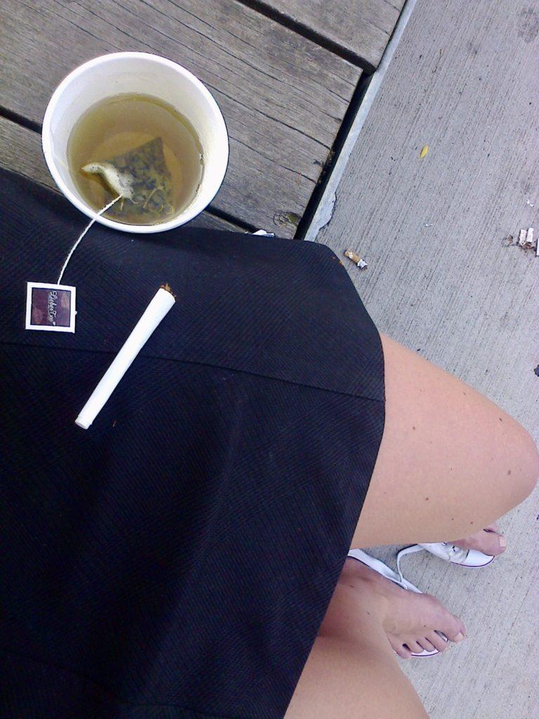 Rauchen aufhören - die letzte Zigarette
