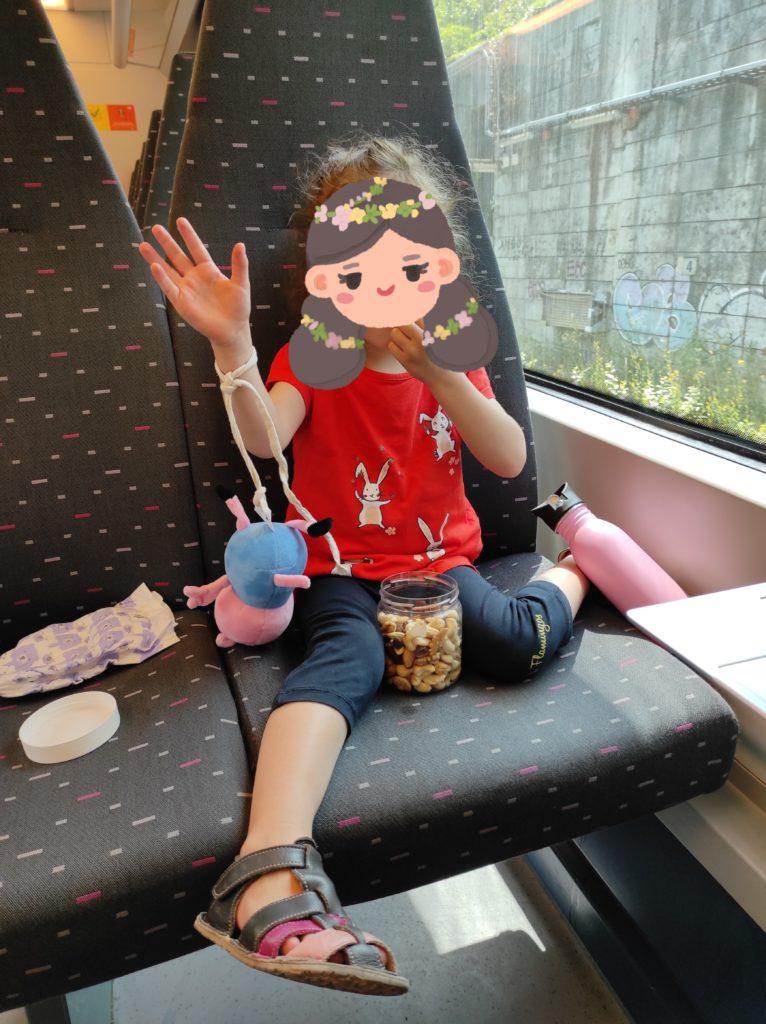 Ortsunabhängig arbeiten: Packliste für 3 Wochen Backpacking mit Kind - im Zug