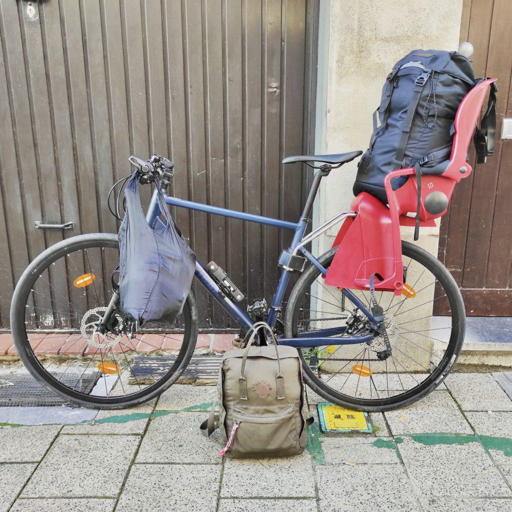 Minimalismus & Umzug: Minimalistisch umziehen mit Kind: Umzug mit dem Fahrrad?