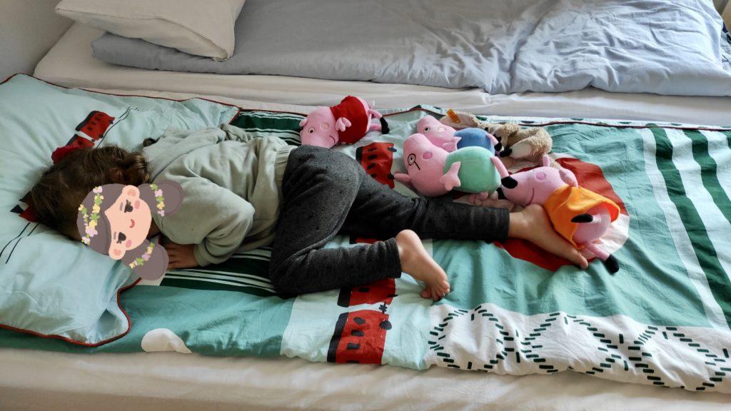 Minimalismus & Umzug: Minimalistisch umziehen mit Kind: Peppa