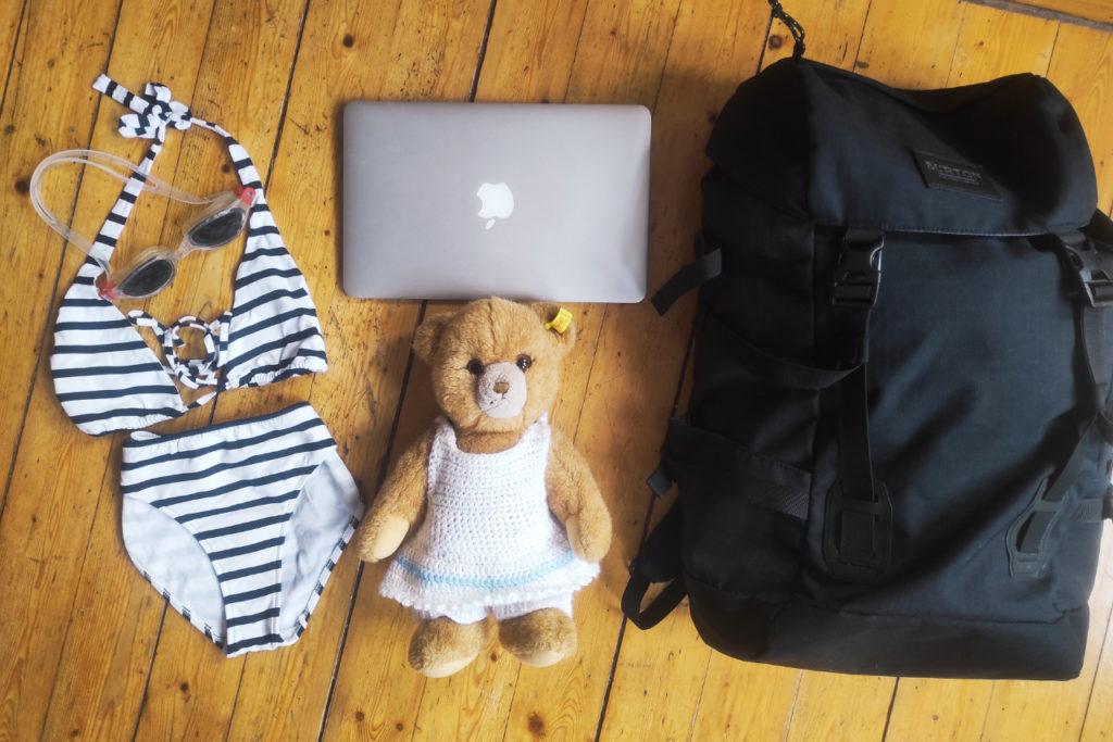 Ortsunabhängig arbeiten: Packliste für 3 Wochen Backpacking mit Kind